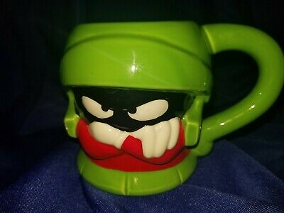 1996 LOONEY TOONS MARVIN THE MARTIAN CERAMIC COFFEE MUG * Free Shipping*