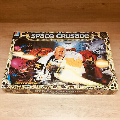 Space Crusade Extra Storage Empty Box + Insert Tray Only! Very Good/Excellent!