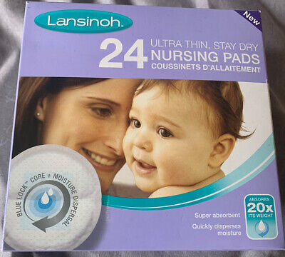Lansinoh Stay Dry Disposable Nursing Pads - Breastfeeding Baby Hospital Bag