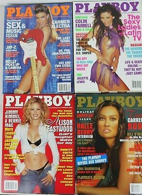 Playboy Magazine Full Year Complete Collection Set 2003 12 issues nude LOT