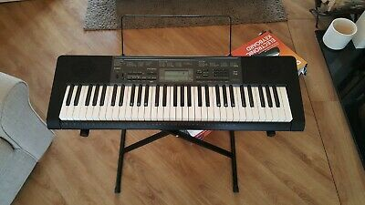 Casio CTK-2200 Electronic Keyboard, Stand and 3 song books