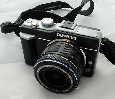 Olympus PEN E-PL1 12.3MP Camera with 14-42mm lens PLUS additional battery,extras