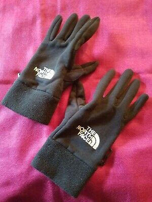 The North Face Women's Power Stretch Running Gloves Black Size L 166591