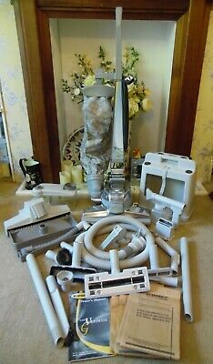 Kirby G7 Vacuum Cleaner With Caddy, Tools As Pictured Owners Manual & Shampooer.