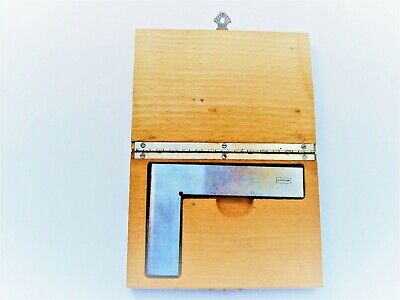 Toolmakers  Stock  Thin  Steel  Square  Boxed