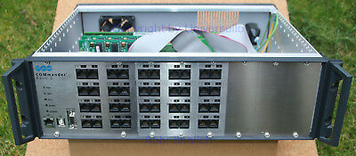 """Auerswald Basic 2 Rack 19"""" VoIP ISDN incl. Module und Dongle All IP"""