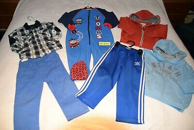 Boys mixed clothes job lot Bundle size 1.5 to 2 years
