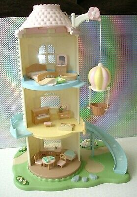 Sylvanian Families Baby Windmill Large Playset + Lots of Furniture & Accessories