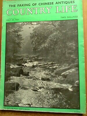 Country Life magazine-July 1954