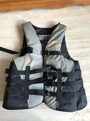 Tribord Buoyancy Aid, Adult. For Over 75kg, 4 Clip Fastens