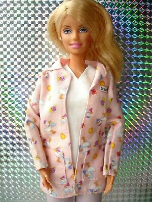 Barbie Happy Family Blonde Baby Doctor Midwife Doll with Original Outfit & Shoes