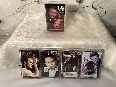 DOUG STONE Vintage Lot Of 5 Cassette Tapes! LOOK! #255