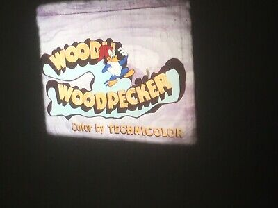 16mm Woody Woodpecker Cartoon Southern Fried Hospitality Color Sound