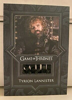 Tyrion Lannister Game of Thrones Season 8 Cloak Relic Card VR17