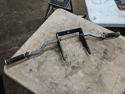 1952-78 Harley Sportster Chrome Highway Pegs w/ Mounts XLH XLCH K KH