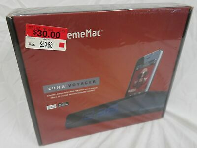 New in Box - XremeMac Luna Voyager iPod iPhone Alarm Clock & Speaker