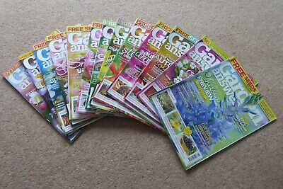 GARDEN ANSWERS MAGAZINES 24 copies INC CHELSEA EDITIONS £1 each 3 = £2.50 8 = £5