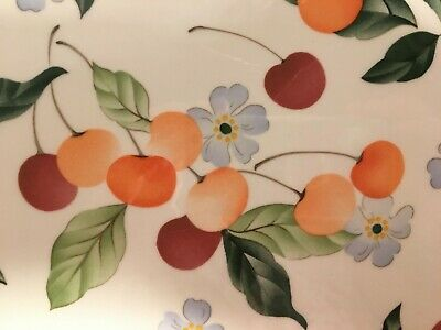 Villeroy & Boch AMIGO Cherry Blossoms Cherries Oval Serving Platter - Luxembourg