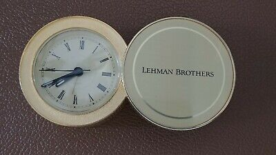 Lehman Brothers Collectible Coin Clock