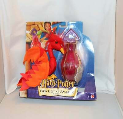 Mattel Harry Potter Fawkes with Potion Jar Mint in Original Package Box