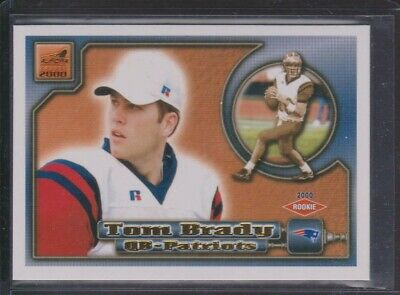 2000 Pacific Aurora #84 Tom Brady Rookie RC - New England Patriots