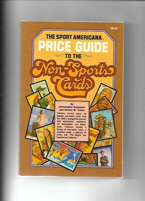The Sport Americana Price Guide To The Non Sports Cards 1981 Softcover