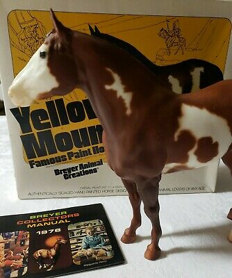 Vintage Traditional Breyer #51 Yellow Mount  Chestnut paint with box 1976
