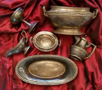 Hotel Statler New York Silver 6 Piece Lot by Reed & Barton