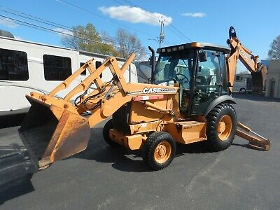 Case 580M Turbo Series 2 Backhoe Loader Tractor Extrendahoe 2007 Clean