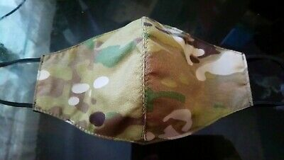 Genuine Crye Precision Multicam Fabric Face Mask For US Army/Air Force (OCP)