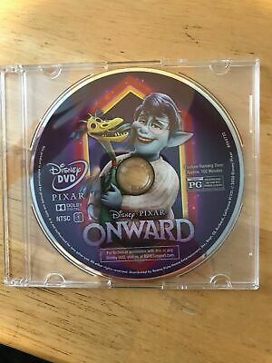 Disney Pixar Onward Dvd Only! Ships In Jewel Case As Shown.bought As A Combopack