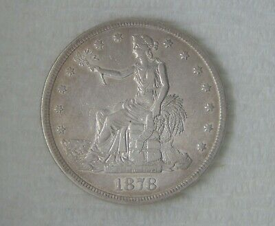 1878 S Silver Trade Dollar $1, HIGH GRADE, NICE COIN!!!