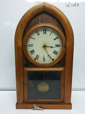 Antique Daniel Pratt and Sons Beehive mantle clock