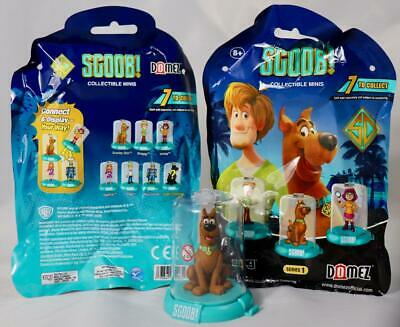 Scoob! Movie Zag Toys Domez Figures Collectible Mini Figure Scooby Doo New Vhtf