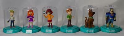Scoob! Movie Domez Lot Of 6 Figures Scooby Shaggy Fred Thelma Daphne Blue Falcon
