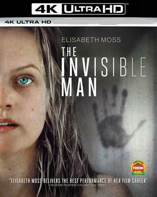 The Invisible Man (Blu-ray 4K + Case + Slip-Cover) Pre-Order 1-Disc Never Viewed