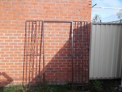 "Vintage Wrought Iron Door Entrance Great For Garden ""Very Heavy"""