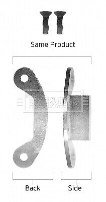 Brake Shoe Fitting Kit BBK6345 Borg & Beck Genuine Top Quality Replacement New