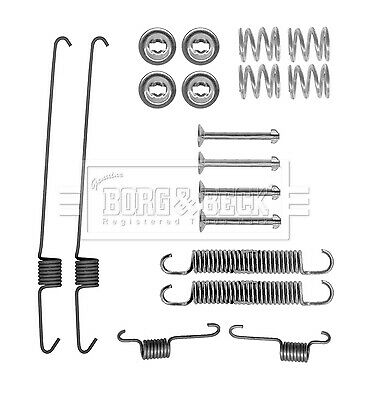 Brake Shoe Fitting Kit BBK6300 Borg & Beck Genuine Top Quality Replacement New