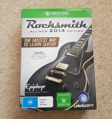 Rocksmith 2014 xbox one & Rocksmith Real Tone Cable including box
