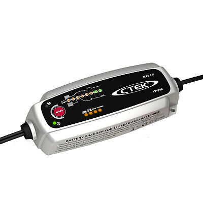 CTEK MXS 5.0 Smart Trickle Battery Charger Auto Express Best Buy 56-975 MX5 5amp