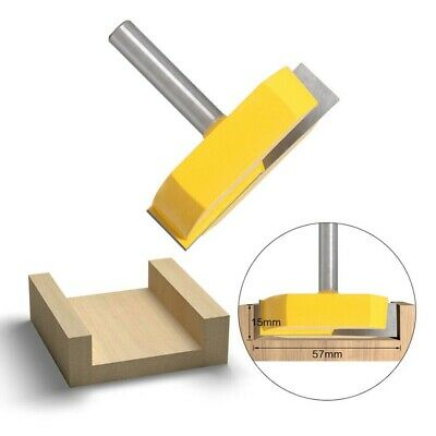 Surface Planing Bottom Clean Wood Milling Woodwork Router Drill Bit Cutter Toolv