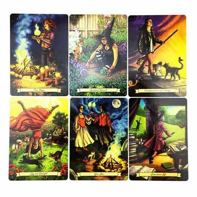 Everyday Witch Tarot Deck  Indicator Forecasting Cards Gift Table Game 2020