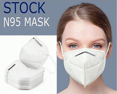 Kn95 Face Mask Surgical Disposable Mouth Guard Cover N95 Masks Filter Respir Uk 1 49 Picclick Uk