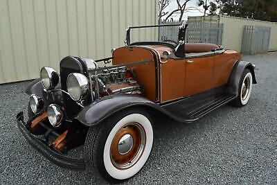 1929 Chrysler 75 Roadster Hotrod - Just Incredible - A One Off