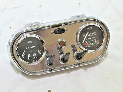 Classic Chrome Instrument Panel Fits Classic Cars Hot Rod Kit Car