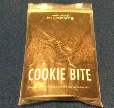 Cookie Bite (Gimmicks and Printed Instructions) by Eric Ross - Magic Trick