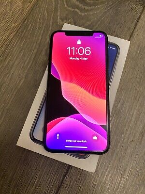 Apple iPhone X - 256GB - Space Grey (Unlocked) - Cracked Back