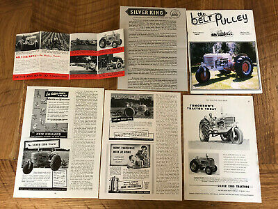 Silver King Tractor Ads, Brochure, Magazine - Mostly Model 42