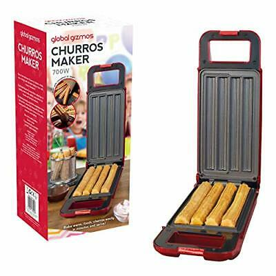 Global Gizmos 35529 Churros Maker, Plastic, Thermostatically Controlled 180°